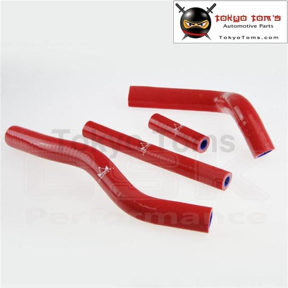 Silicone Radiator Coolant Hose For Suzuki Rm125 Rm 125 2001-2008 02 03 04 05  Red