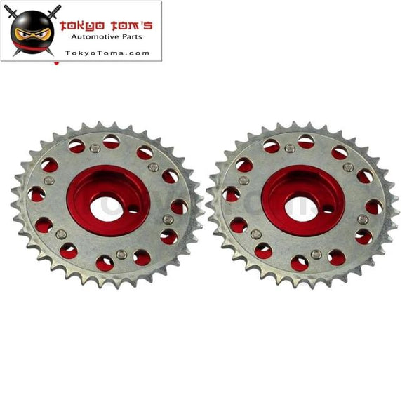 Slide Cam Gear Pulley For  200Sx 240Sx S13 S14 S15 Silvia Sr20 Sr20Det Red