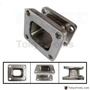 Stainless Steel 304 T3 To T4 Turbo Charger Manifold Flange Adapter Conversion Parts