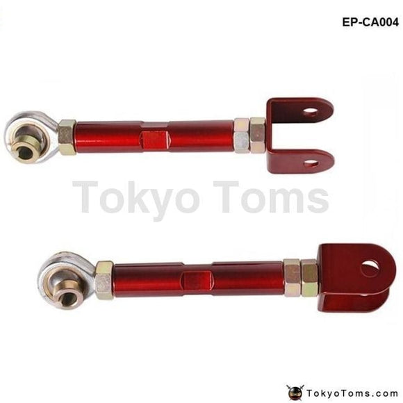 Stainless Steel Rear Traction Control Rods / Arms For Nissan 89-98 240Sx S13/s14 300Zx (Red)