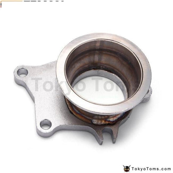 Stainless Steel T04E T3/t4 5 Bolt Exhaust Dump Flange To 3 76Mm Vband Adapter Turbo Parts