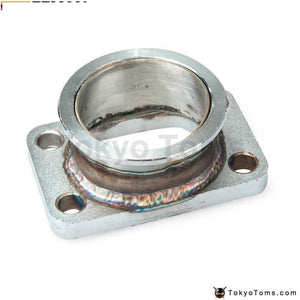 Steel Adaptor For T3 4Bolt To 2.5 V-Band Flange Fits Toyota Acura Honda Bmw Turbo Parts