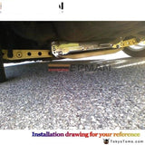 Subframe Reinforcement Brace For Honda 96-00 Civic Suspensions