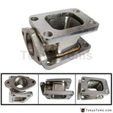 T3-T3 Stainless Steel 304 Turbo Manifold Adapter+38Mm Wastegate Flange Outlet Parts