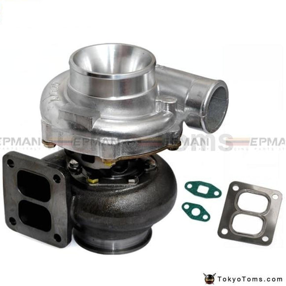 T70 Turbocharger A/r .70 Rear 0.84 T4 Twin Scroll 4 V-Band Oil Cooler Turbos