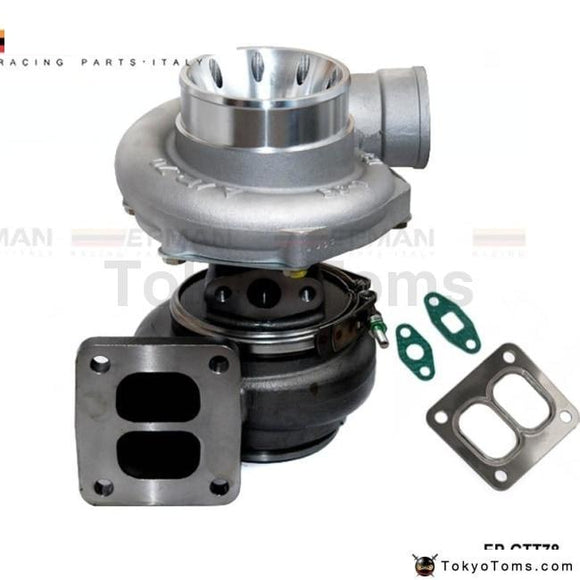 T78 T4 Twin Scroll Turbo Charger V Band For Racing Car Horsepower: 500-1000Hp With Gaskets Turbos
