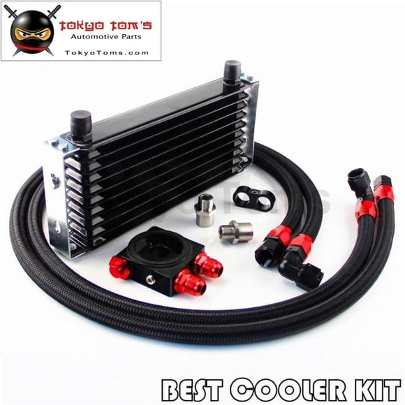 thermostat Sandwich Plate kit SL Universal New-style AN10 19 row oil cooler