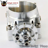 Throttle Body 70Mm For Nissan Silvia Sr20 S13 S14 S15 Sr20Det 200Sx 240Sx Silver