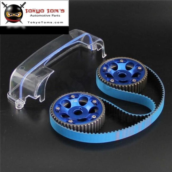 Timing Belt+ Cam Cover+Cam Gear Pulley Fits Kit For Toyota Mk Iv 2Jz-Gte 2Jz 93-02 Red/blue/purple