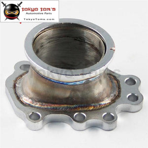 To T25 T28 Gt25 Gt28 2.5 63Mm V-Band Clamp Flange Turbo Dump Pipe Adapter