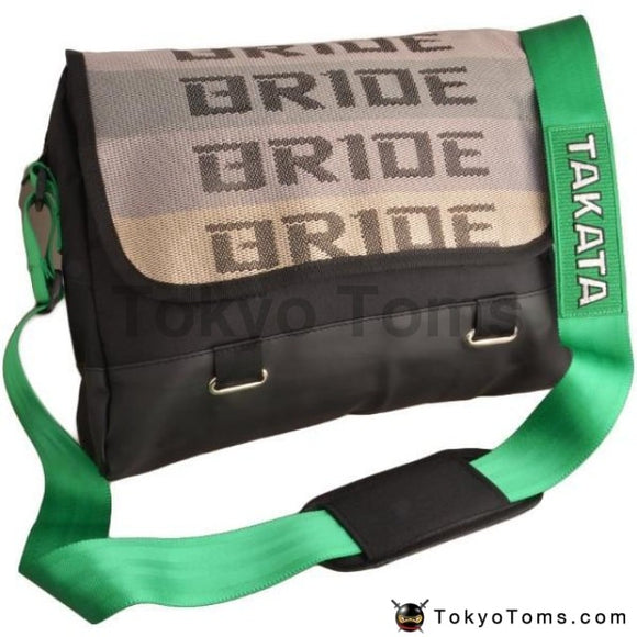 BRIDE Style - Green Takata Strap - Laptop Bag