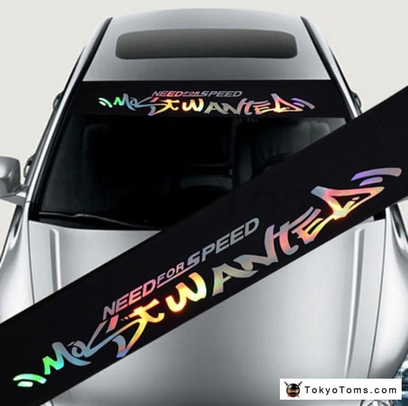 Need For Speed Most Wanted Window Banner