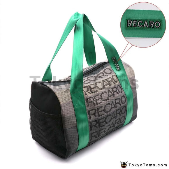 RECARO Style - Green Recaro Strap - Duffel Bag - Carry Bag