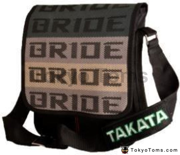 BRIDE Style - Black Takata Strap - Cross Bag