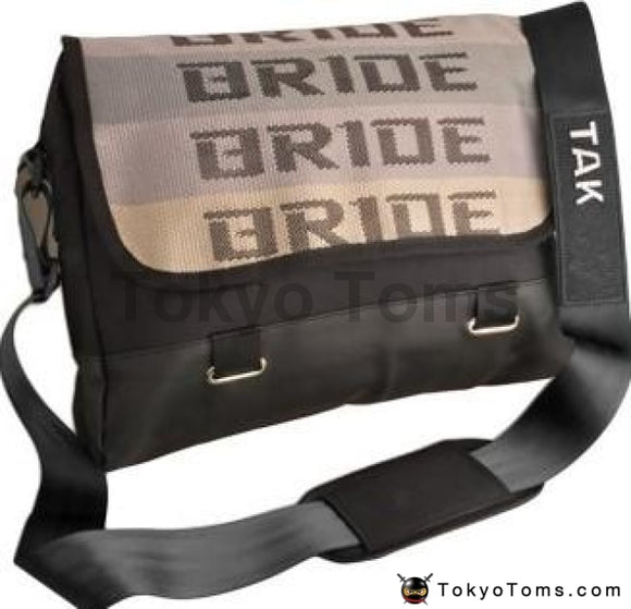 BRIDE Style - Black Takata Strap - Laptop Bag
