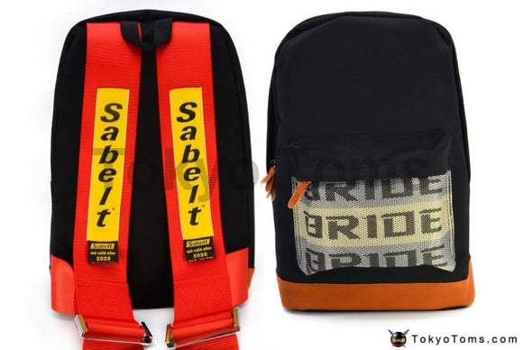 BRIDE Style - Red Sabelt Strap Backpack