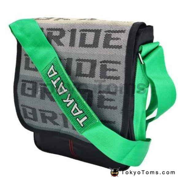 BRIDE Style - Green Takata Strap - Cross Bag