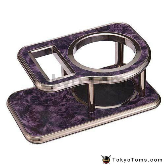 Tokyo Toms Purple VIP Luxury Drink table - cigarette holder