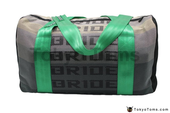 BRIDE Style - Green Takata Strap - Duffel Bag - Carry Bag