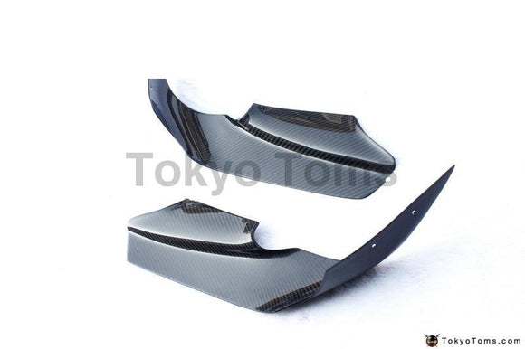 Carbon Fiber Front Canards 4 Pcs Fit For 1995-1998 Skyline R33 GTR OEM Front Bumper Auto Select Style Canards