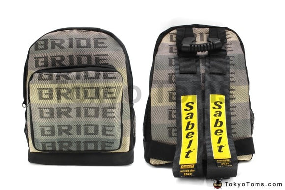 Full BRIDE Style - Black Sabelt Strap Backpack