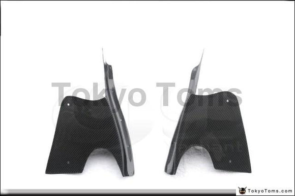 Car-Styling Carbon Fiber / FRP Fiber Glass Front Canards Fit For 1992-1997 RX7 FD3S RE-GT Style Front Bumper Canards