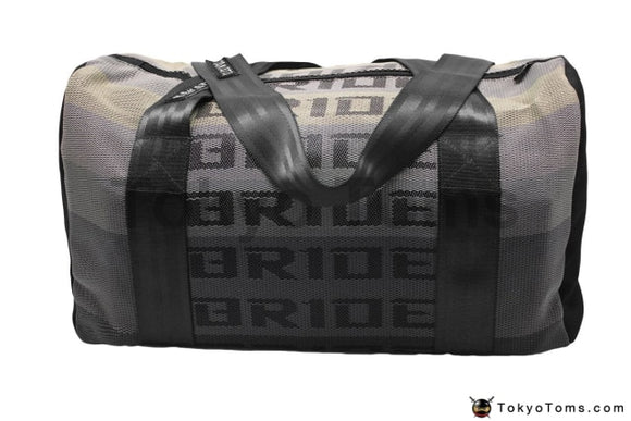 BRIDE Style -  Black Takata Strap - Duffel Bag - Carry Bag