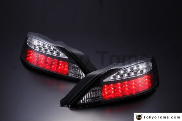 Nissan S15 Silvia Led Tail Lamp Led Turn Signal Type (Black) (Left And Right Set)