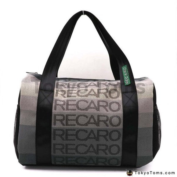 RECARO Style - Black Recaro Strap - Duffel Bag - Carry Bag