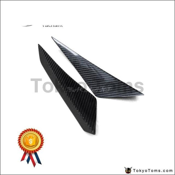 Car-Styling Auto Accessories Carbon Fiber Front Bumper Canards Fit For 14-16 Huracan LP610-4 Revo RZ Style Front Canards
