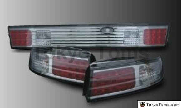 Nissan S14 LED (Smoke) Tail Lights (left and right and optional center)