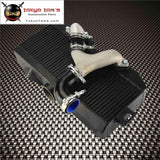 Top Mount Uprated Intercooler +Y Pipe Kit Fits For Subaru 02-07 Wrx Sti Ej20 Ej25 Gd Red / Blue