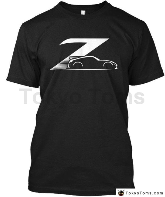 Top Quality T Shirts Men O Neck 370Z Nismo Black Racer Sporter Tee T-Shirt Print Clothing