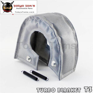 Turbo Blanket Heat Shield Wrap Gray Turbocharger Cover T3 T25 T28 Td05 Gt25 Gt30 Csk Performance