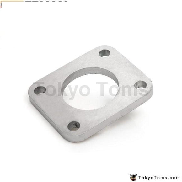 Turbo Exhaust Manifold Stainless Steel Inlet Adapter Flange With Gasket For Evo I-Iii 14B 16G Parts