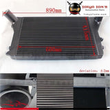 Turbo Intercooler For Vw Gti Jetta Mk5 Mk6 /audi A3 Fsi Tsi 2.0T Gen2 06-10 Black