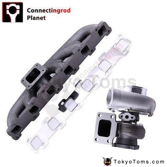 Turbo Manifold for Nissan Safari Patrol 4.2L TD42 Diesel GQ Y60 Y61 T3 Flange GT35 GT3582 for TD42 TB42 TB45
