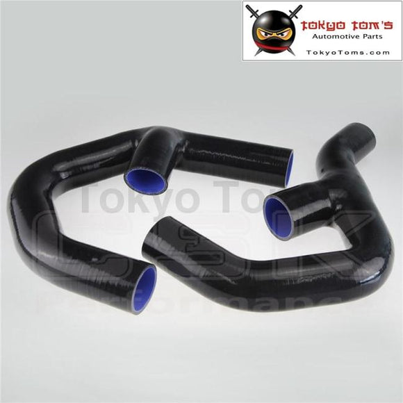 Turbo Silicone Intercooler Hose For VW Golf Mk5 Mkv GTi 2.0 Fsi T 06-09 Black