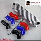 Twin Turbo Intercooler Kit For Bmw 135 135I 335 335I E90 E92 2006-2010 N54 Blue Aluminum Piping
