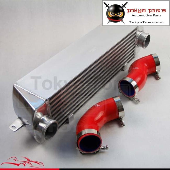Twin Turbo Intercooler Kit For Bmw 135 135I 335 335I E90 E92 2006-2010 N54 Red Aluminum Piping