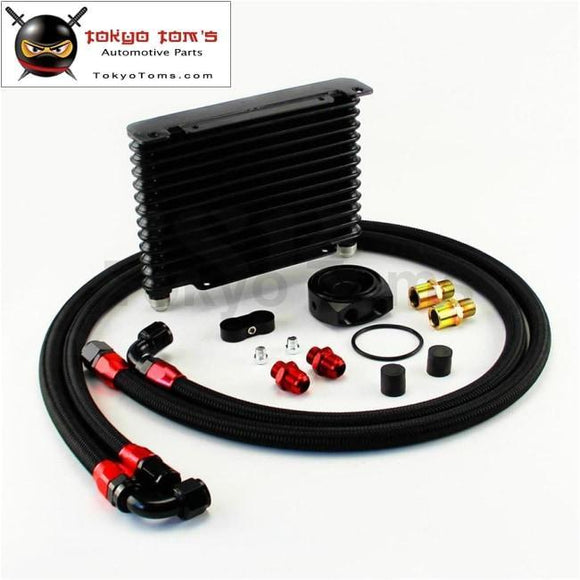 Universal 13 Row An10 Oil Cooler 260X175X32Mm Kit For Track / Project Race Car Csk Performance