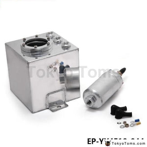 Universal 2L Aluminium Oil Catch Tank/fuel Cell/fuel Can With 044 Fuel Pump Systems