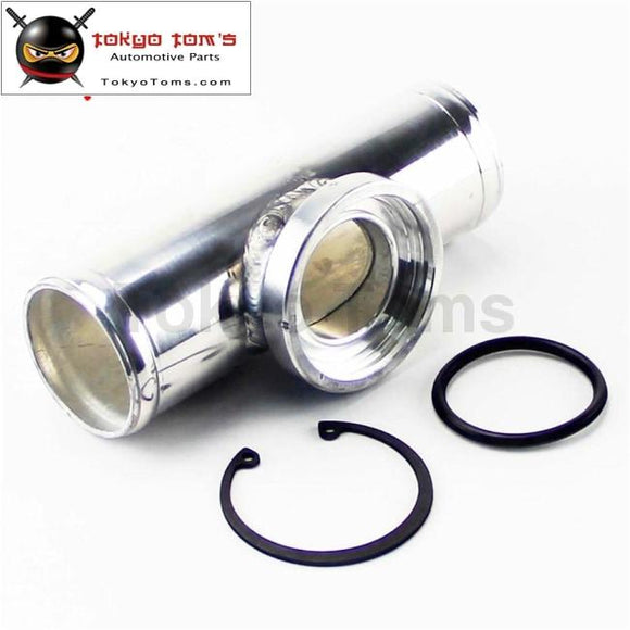 Universal 57Mm 2.25 Turbo Aluminum Flange Pipe For Ssqv/sqv Bov Blow Off Valve Piping