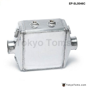 Universal Aluminum Water-To-Air Liquid Racing Intercooler Core: 250 X 220 115Mm Inlet/outlet: 3