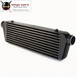 Universal Bar&plate Front Mount Intercooler 550*180*64 Fmic 2.5 In/outlet Black