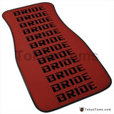 Custom Universal Bride style Floor Mats Red