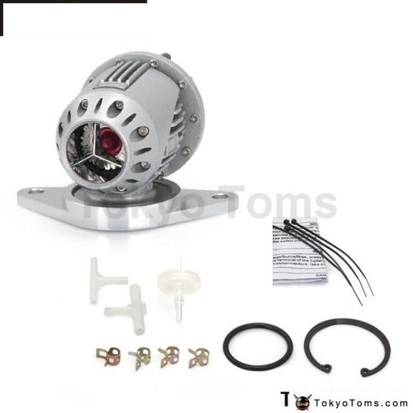 Universal Ssqv Sqv4 Sqviv Style Aluminum Silver Turbocharge Turbo Blow Off Valve With Flang For