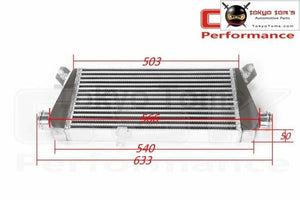Upgrade Bolt On Front Mount Turbo Intercooler For 96-01 Vw Passat Audi A4 B5 1.8 Intercooler
