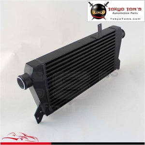 Upgrade Front Mount Turbo Intercooler For Vw Passat Audi A4 B5 B6 1.8T 96-01 Black