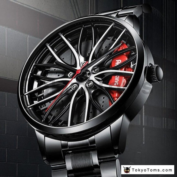 VOLK TE37 RAY Wheel Rim 3D Watch